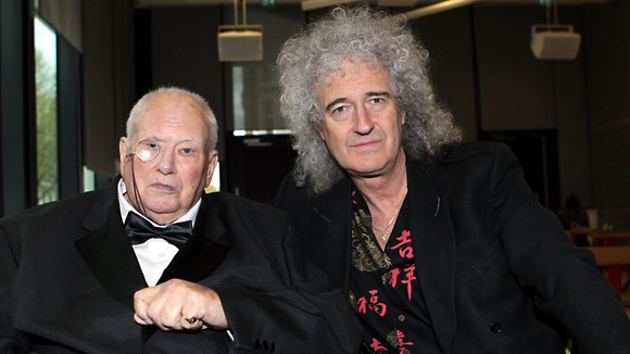 Sir Patrick Moore Brian May
