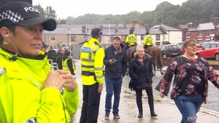 Lancashire Police have a high visibility presence at the concert
