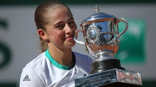 Jelena Ostapenko upset Simona Halep in the French Open final.