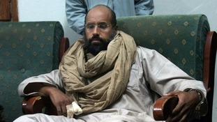 Saif al-Islam was the heir apparent to Gaddafi before the uprising in 2011.
