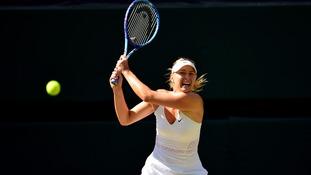 Injured Maria Sharapova out of Wimbledon qualifying