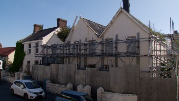 Guernsey Electricity lodge new application to demolish derelict ...