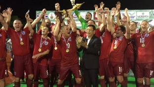 Harrogate Veterans FC have been crowned football World Champions for the 4th time