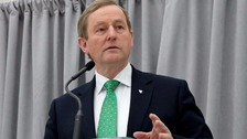 Outgoing Taoiseach Enda Kenny spoke on the phone with Theresa May on Sunday.