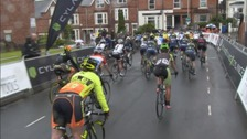 Stage four of the Women's Tour in Chesterfield.