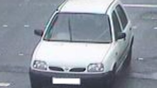 The Nissan Micra used by bomber Salman Abedi