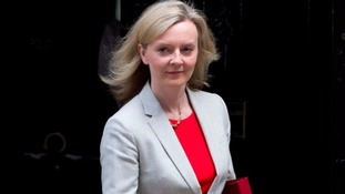 Truss has shot up through the ranks since she was elected in 2010 and was previously the Environment Secretary.