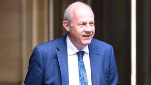 Damian Green arrives at Downing Street