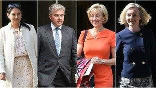 Essex MP Priti Patel, Norfolk MP Brandon Lewis, Northamptonshire Andrea Leadsom and Norfolk MP Liz Truss are all in Theresa May's Cabinet.