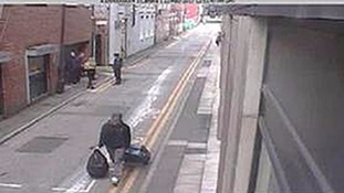 Salman Abedi on CCTV