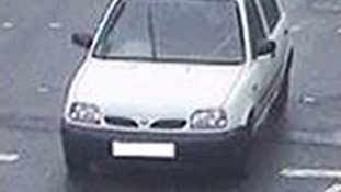 The car used by Abedi