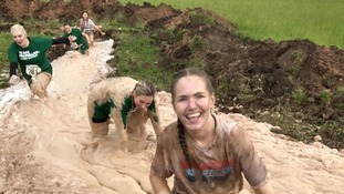 Thousands get muddy for Gelt Gladiator challenge