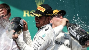 A dominant Lewis Hamilton romped to victory in the Canadian Grand Prix