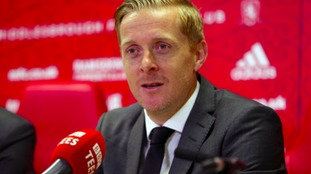 Garry Monk gives first Boro press conference