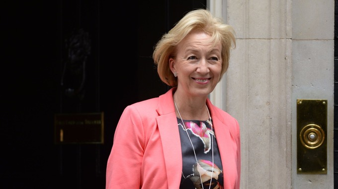Leader of the Commons Andrea Leadsom.