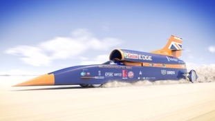 Bloodhound to be driven for first time in tests at Newquay Airport in October