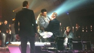 Rylan and Gary Barlow