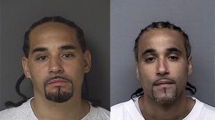 Ricky Amos (left) is the doppelganger of Richard Jones (right).
