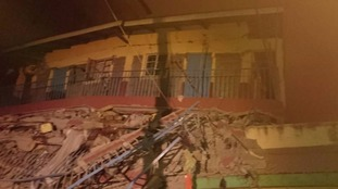 At least 15 missing after high-rise building collapses in Kenya