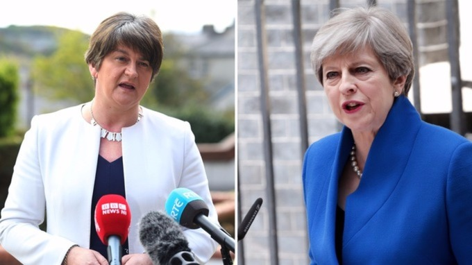 Image result for Arlene Foster, london, photos