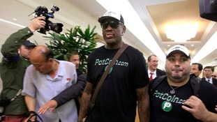 Dennis Rodman in North Korea again for 'basketball diplomacy'