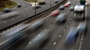 Slow traffic on M5 Southbound