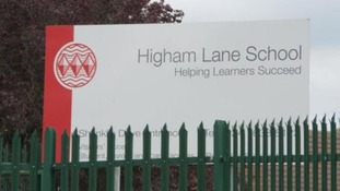Police were called to Higham Lane School