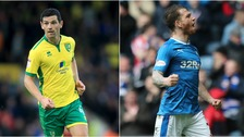 Graham Dorrans (left) is a target for Rangers, while Joe Garner (right) could be joining Ipswich Town.