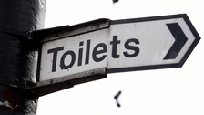 The public will now have to pay 30p to use a number of public toilets across the Borders