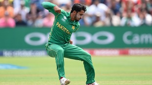 Hasan Ali has ten wickets in four games for Pakistan.