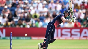 Ben Stokes took 30 balls over his first 10 runs.