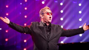 Elton John is scheduled to play at Ipswich Town Football Club in Portman Road on Saturday night.