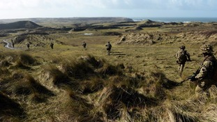 Casualties reported after incident at Castlemartin military training base