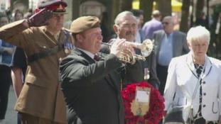 Veterans in Peterborough mark Falklands 35th anniversary