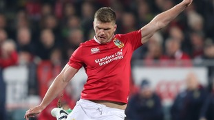 Farrell a doubt for first Lions Test in New Zealand