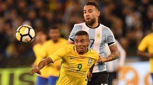 Man City striker does not need surgery on eye injury