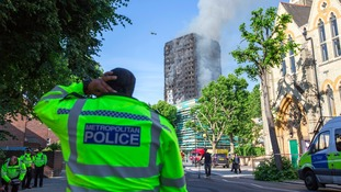 Fire service issue advice for high rise building residents