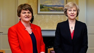 The DUP and Conservatives are trying to prop up a government.