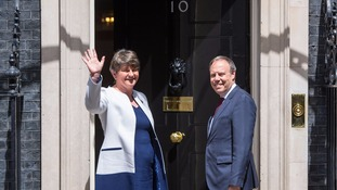 DUP leader Arlene Foster was in Downing Street this week.