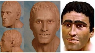 Clay head reconstruction