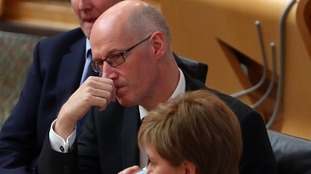 Deputy First Minister and Education Secretary John Swinney