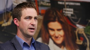 Brendan Cox, widower of murdered MP Jo Cox