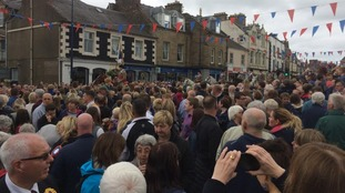 Crowds at the Selkirk Common Riding