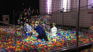 UK's largest adult only ball pit at Colston Hall