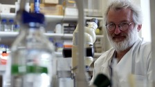 Sir John Sulston is made a Companion of Honour for his work on the human genome