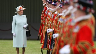 The Queen will present the medals to the honourees in a ceremony