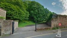 Entrance to Castle Park