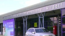 The cyber attack on Norwich Airport affected bookings and arrival and departure boards