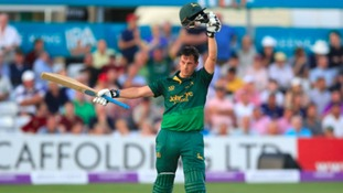 Nottinghamshire complete record run-chase