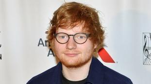 Ed Sheeran has been awarded an MBE.